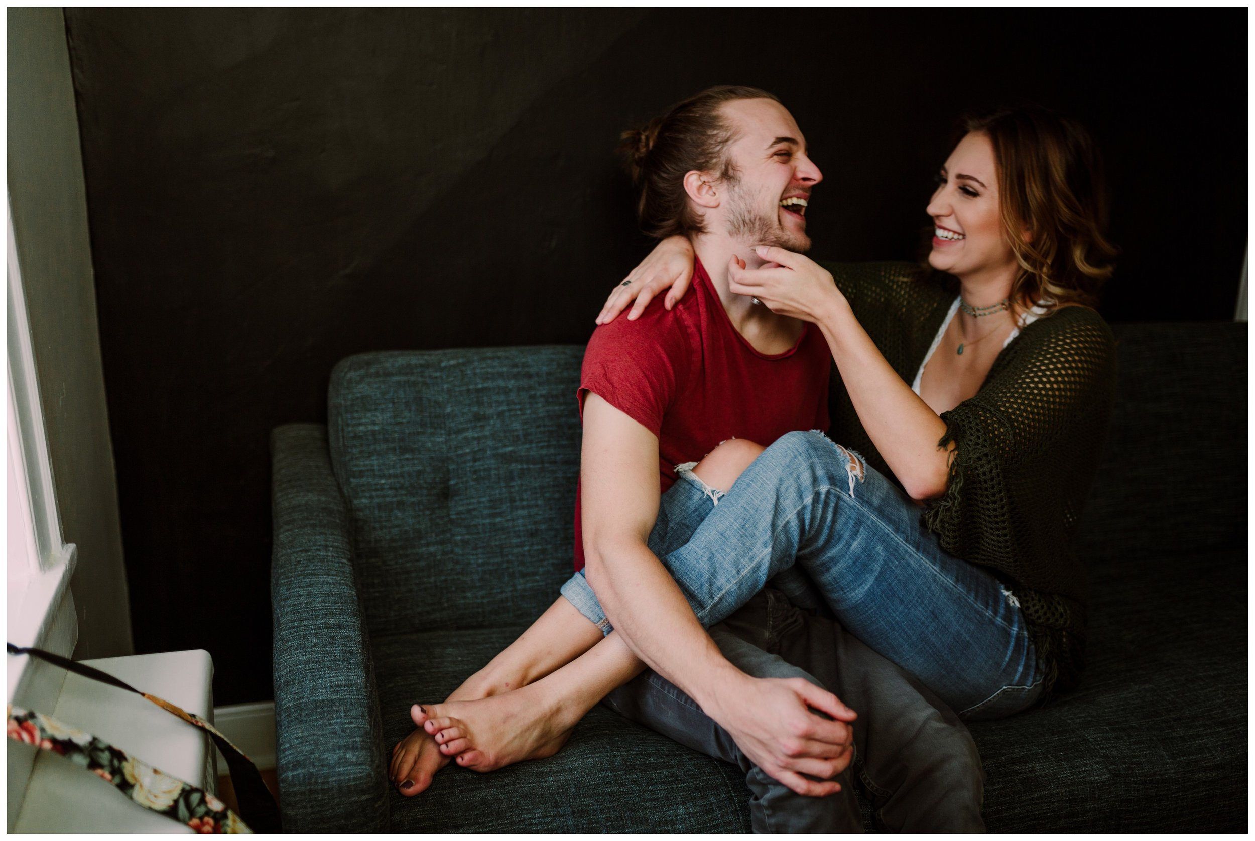 Paige & Ricky | Playful and Intimate Lancaster Pa In-Home Session | Philadelphia Couple's Photographer-14.jpg