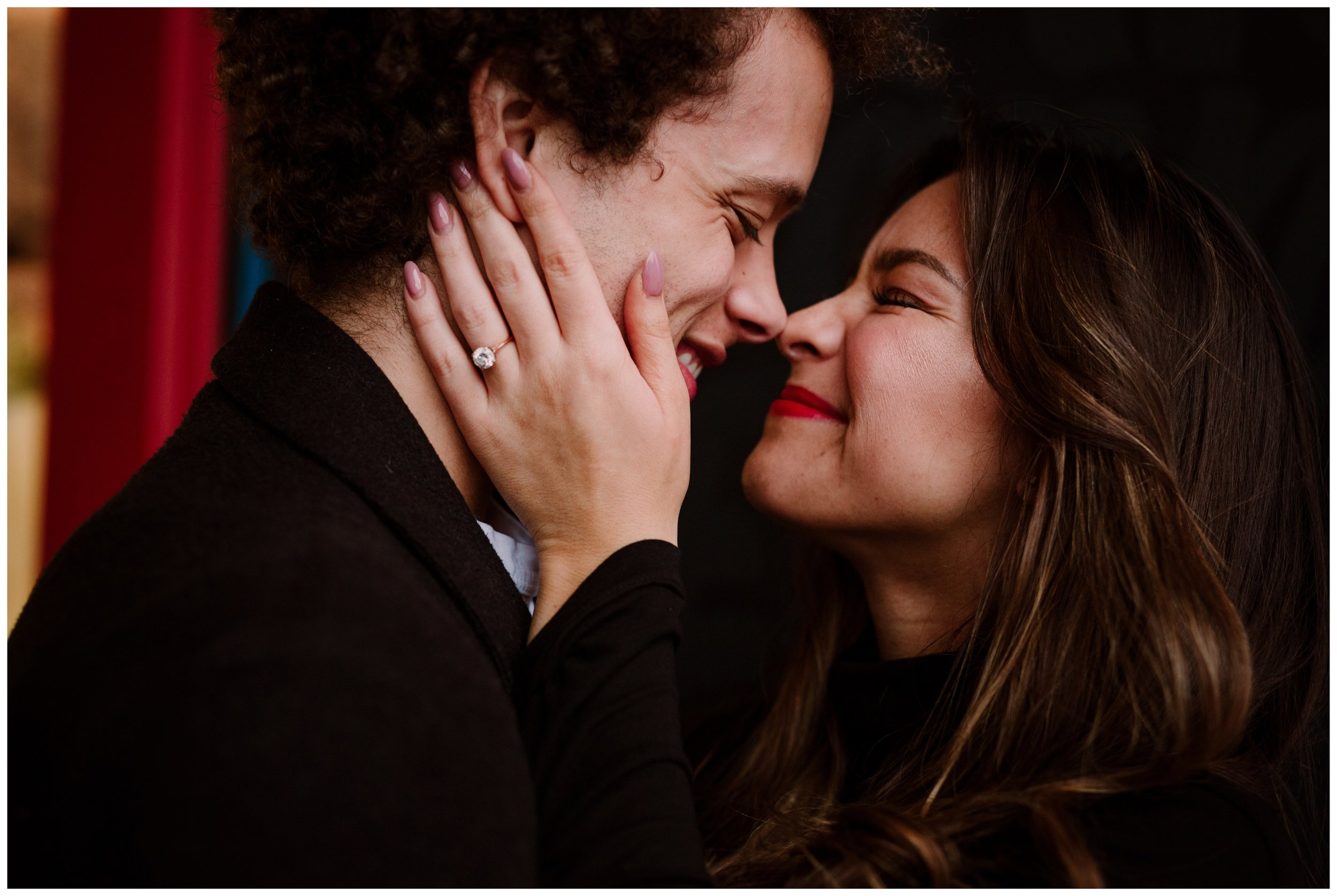 Grace and Damon | Stylish Chelsea NYC and Hoboken Engagement Session | NYC Wedding Photographer-12.jpg