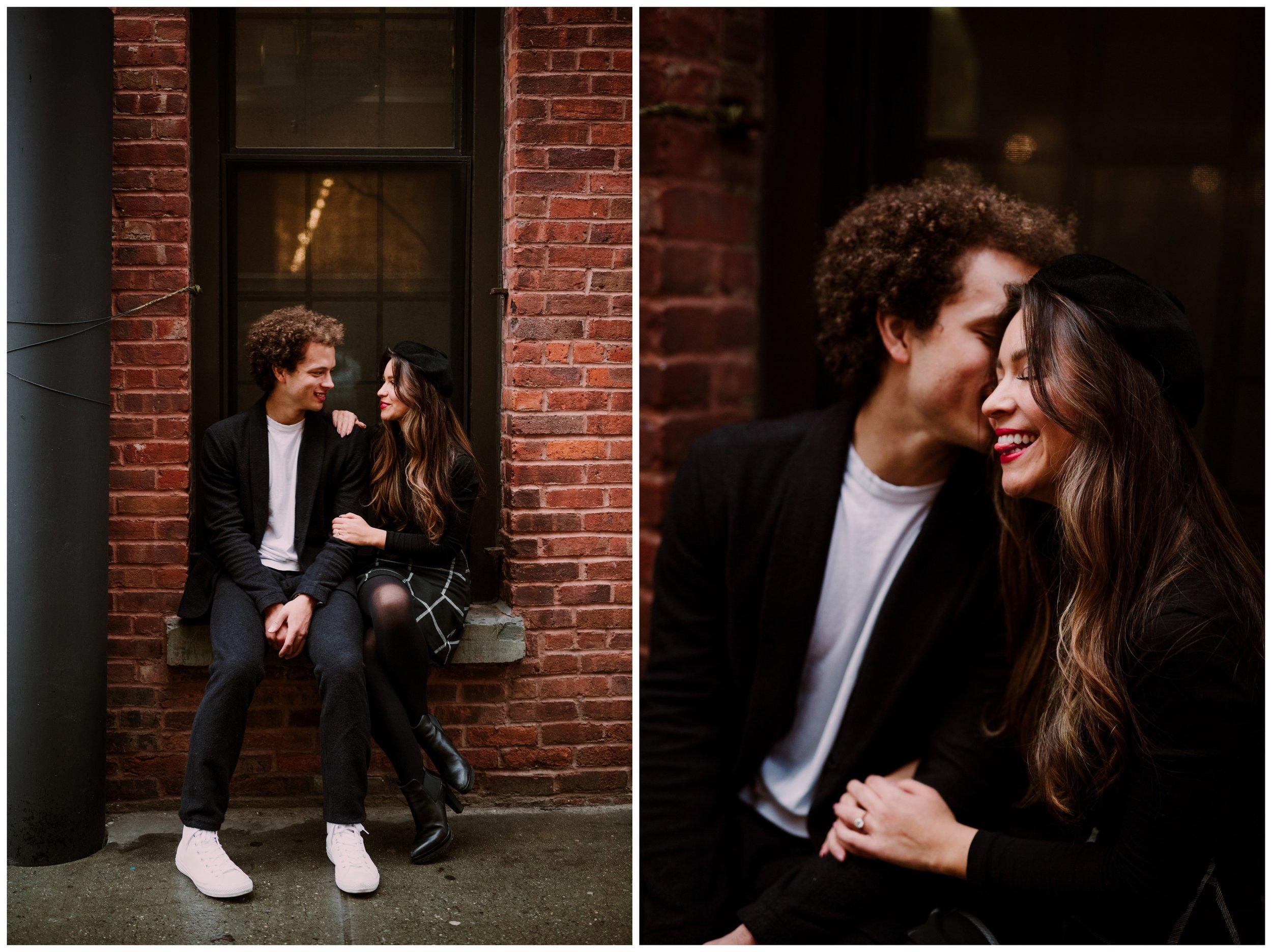 Grace and Damon | Stylish Chelsea NYC and Hoboken Engagement Session | NYC Wedding Photographer-15.jpg