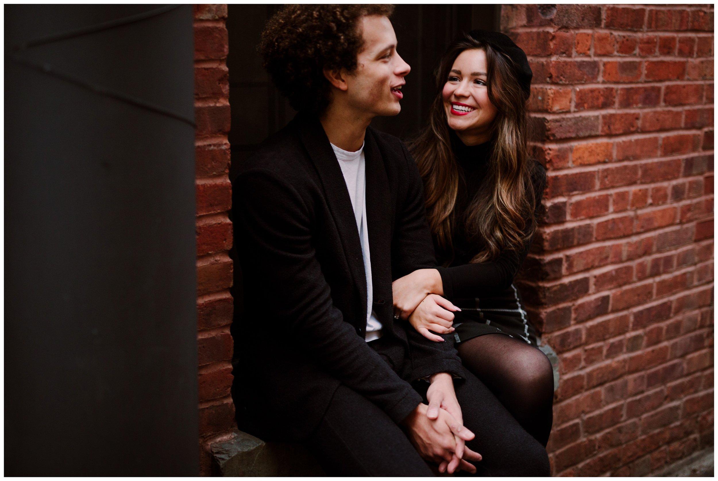 Grace and Damon | Stylish Chelsea NYC and Hoboken Engagement Session | NYC Wedding Photographer-21.jpg