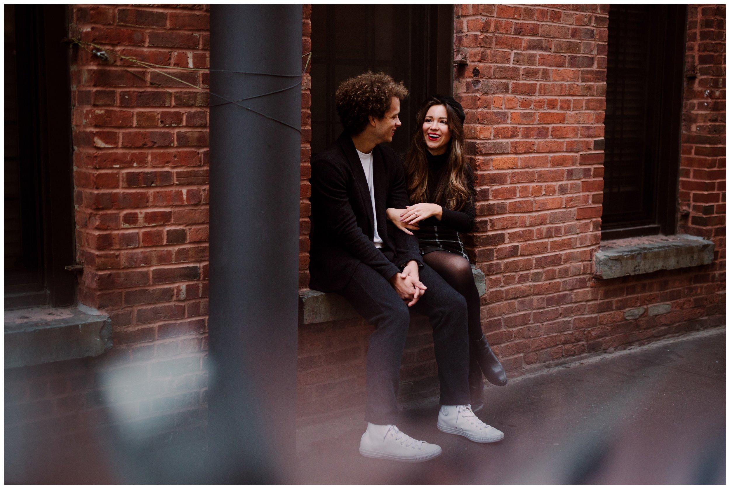 Grace and Damon | Stylish Chelsea NYC and Hoboken Engagement Session | NYC Wedding Photographer-22.jpg