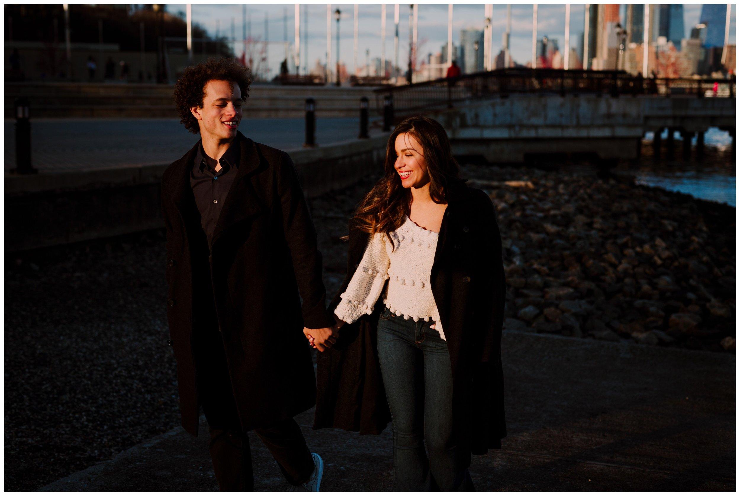 Grace and Damon   Stylish Chelsea NYC and Hoboken Engagement Session   NYC Wedding Photographer-88.jpg