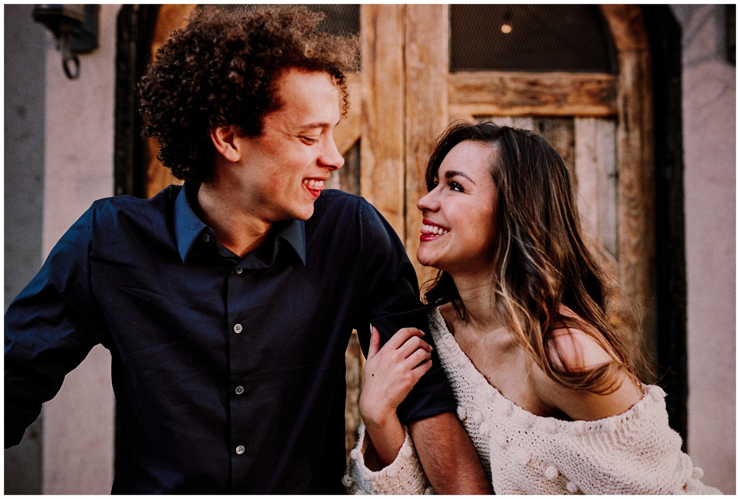 Grace and Damon   Stylish Chelsea NYC and Hoboken Engagement Session   NYC Wedding Photographer-100.jpg