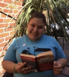 Nika Clark,  Street Librarian