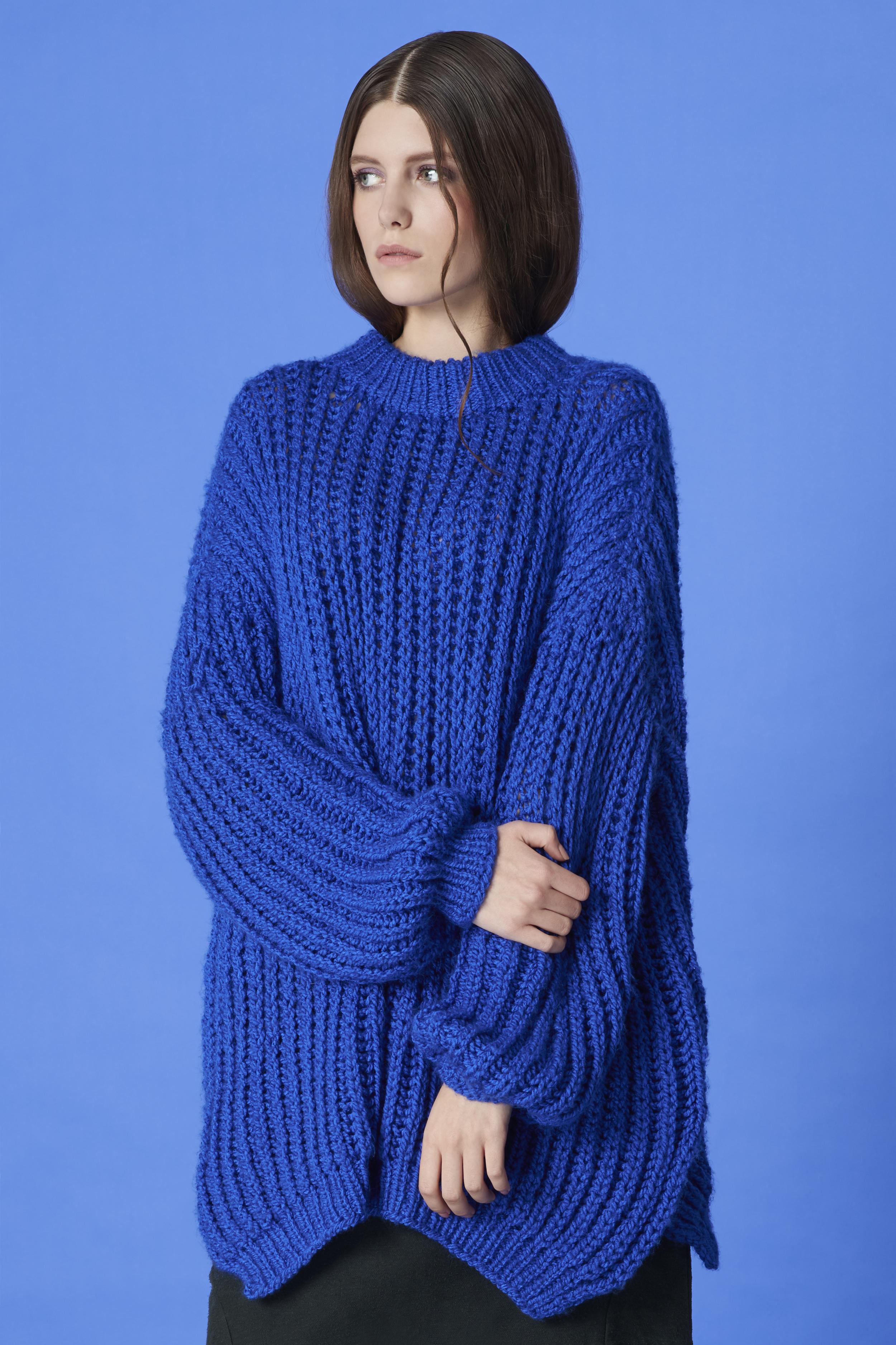 sweater PAT GUZIK, culottes ACEPHALA
