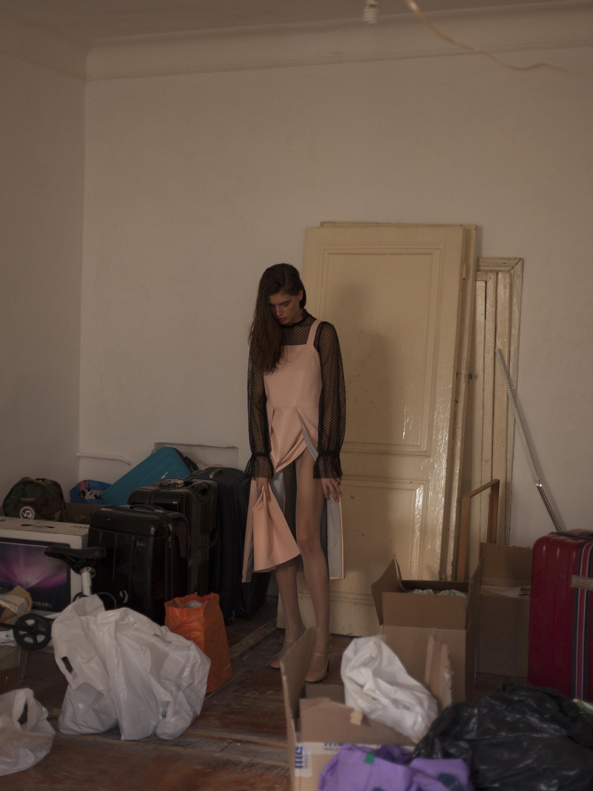 Dress FORMA, Top YASYA MINOCHKINA