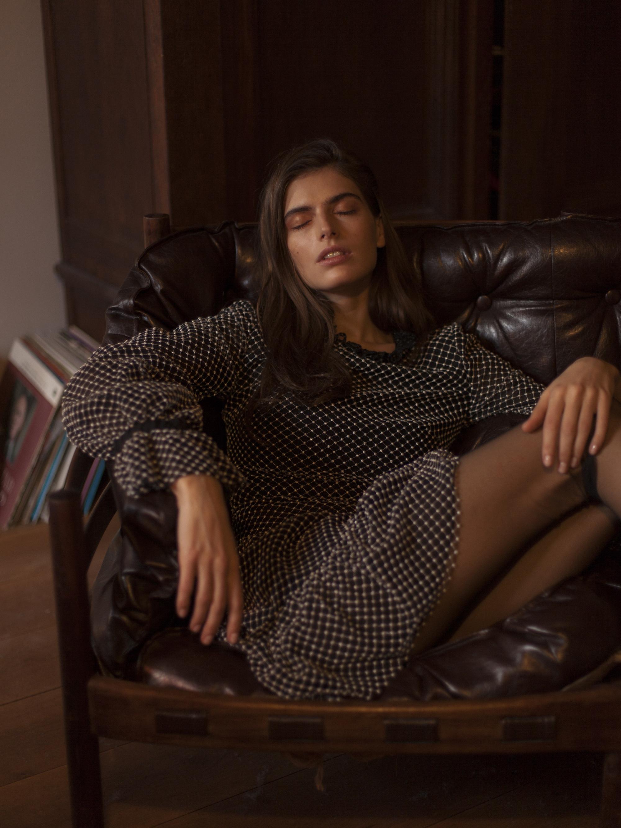 Dress and Tights YASYA MINOCHKINA