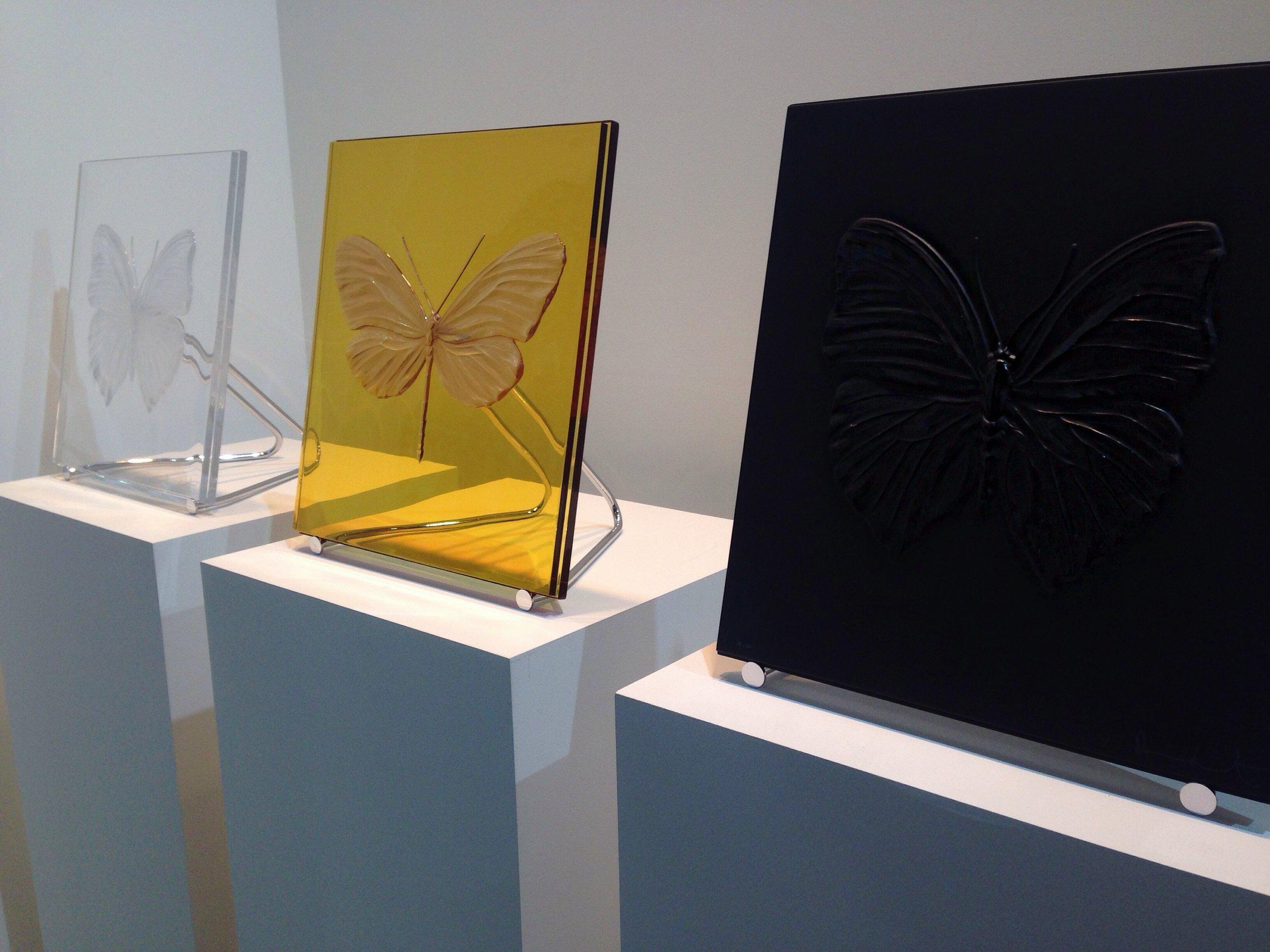 Série 'Eternal'   Damien Hirst & Lalique