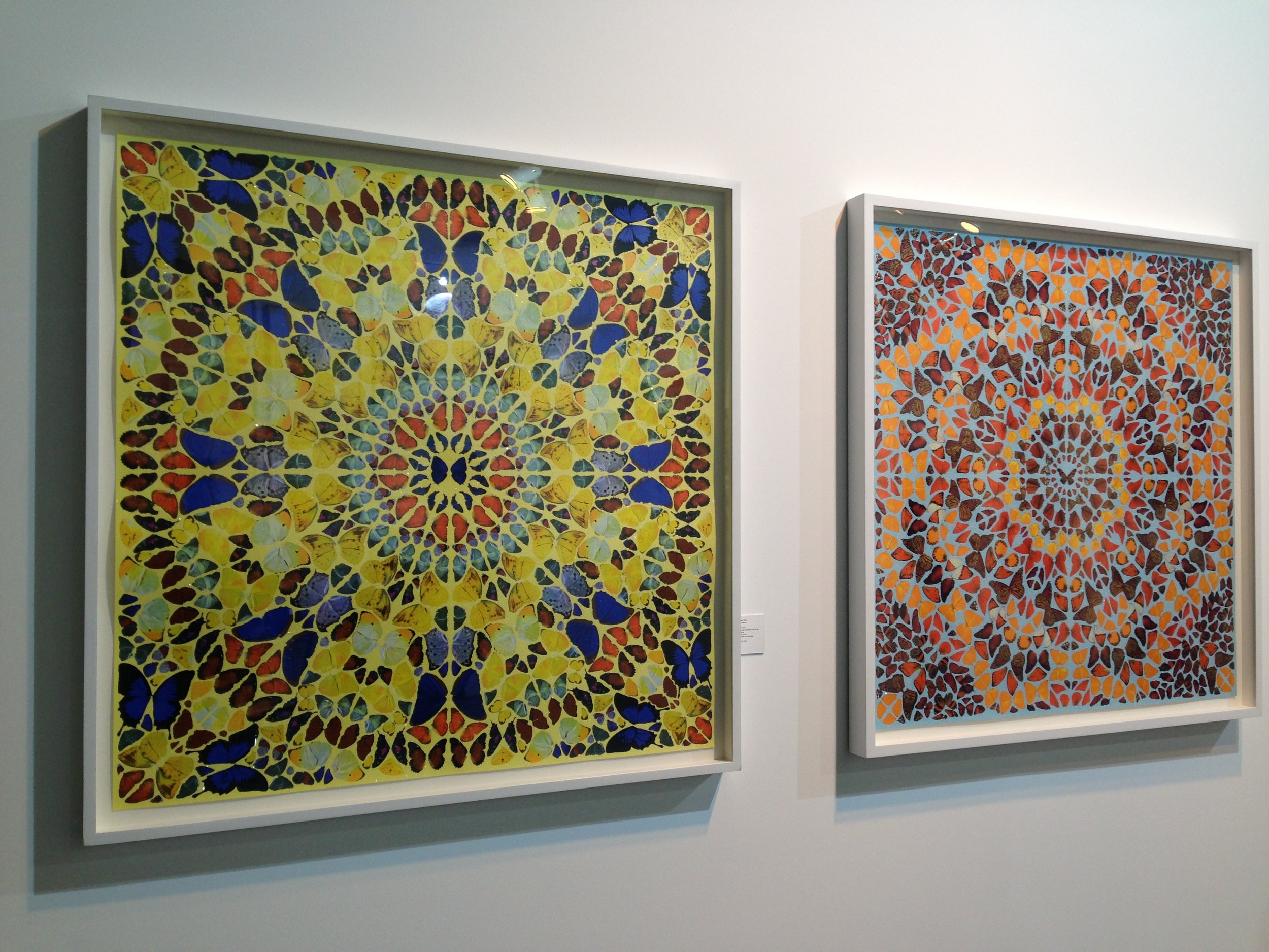 Obras da série 'Kaleidoscope'