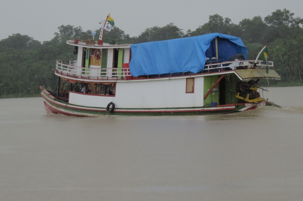 Cortesia de House Boat Amazon e Global Conservation International