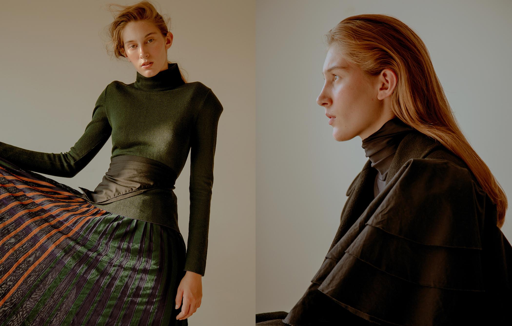 Look Coven  Trenchcoat Calvin Klein