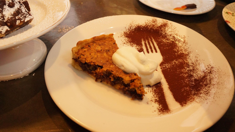 Chocolate Hazelnut Tart as Demoed by Rachel Allen.