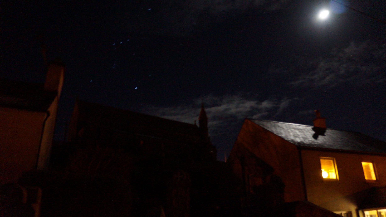Spooky church in Ballycotton.