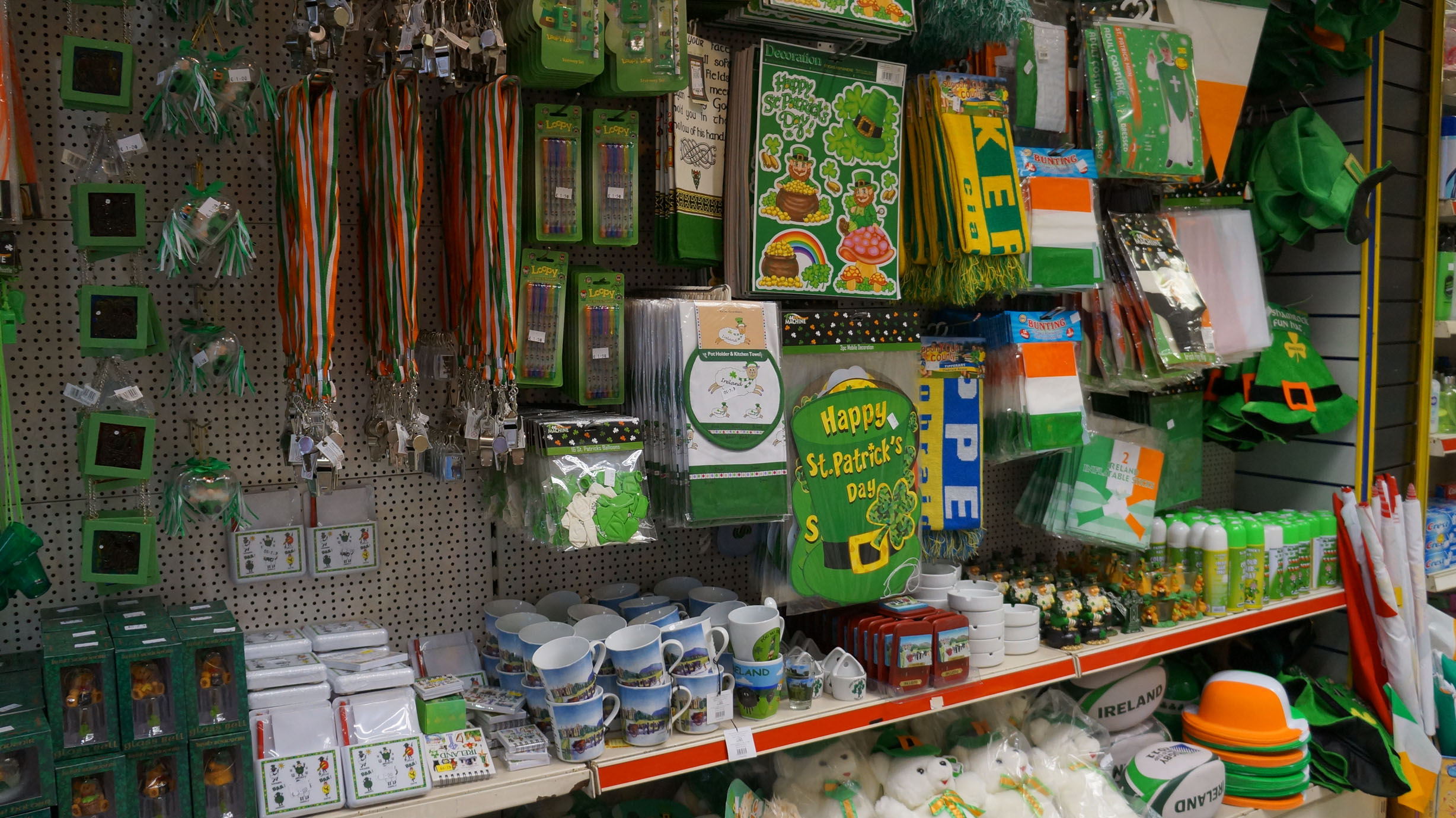 Patty's day at the 'EURO SHOP'
