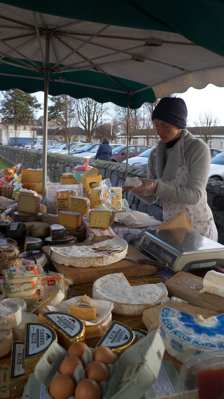 Cheese stand!