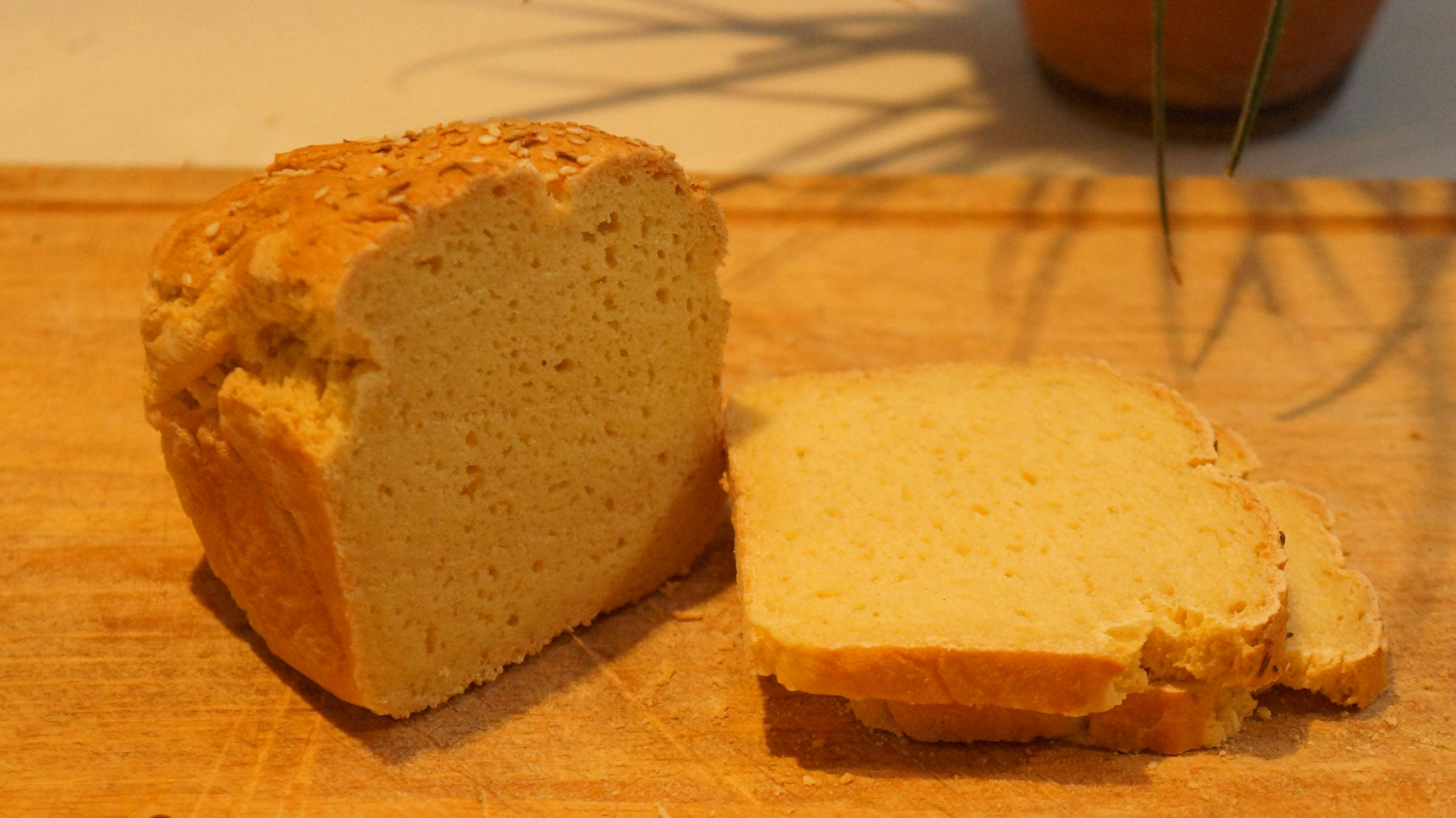 Yeasted Corn Meal Sandwich Bread