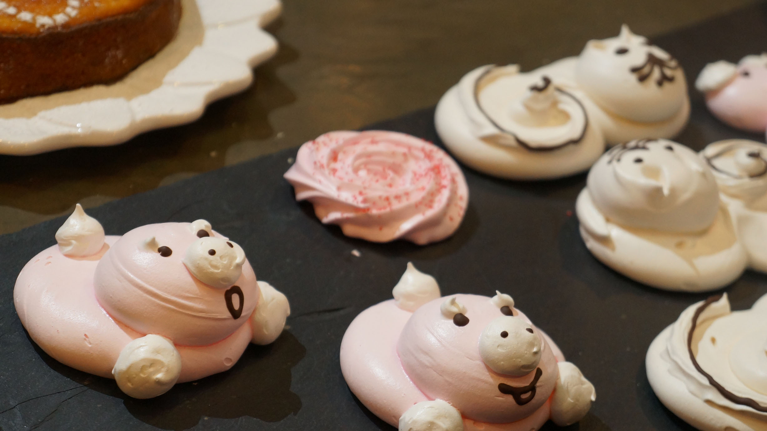 meringue animals!