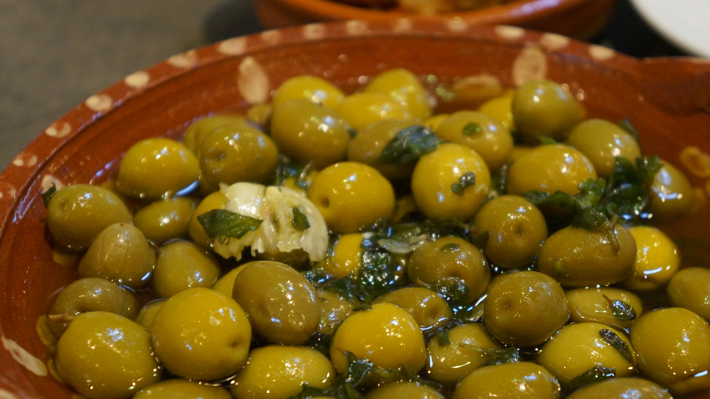 Tapas - Marinated Olives