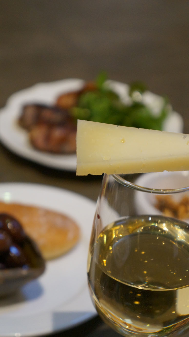 Manchego Cheese & Sherry