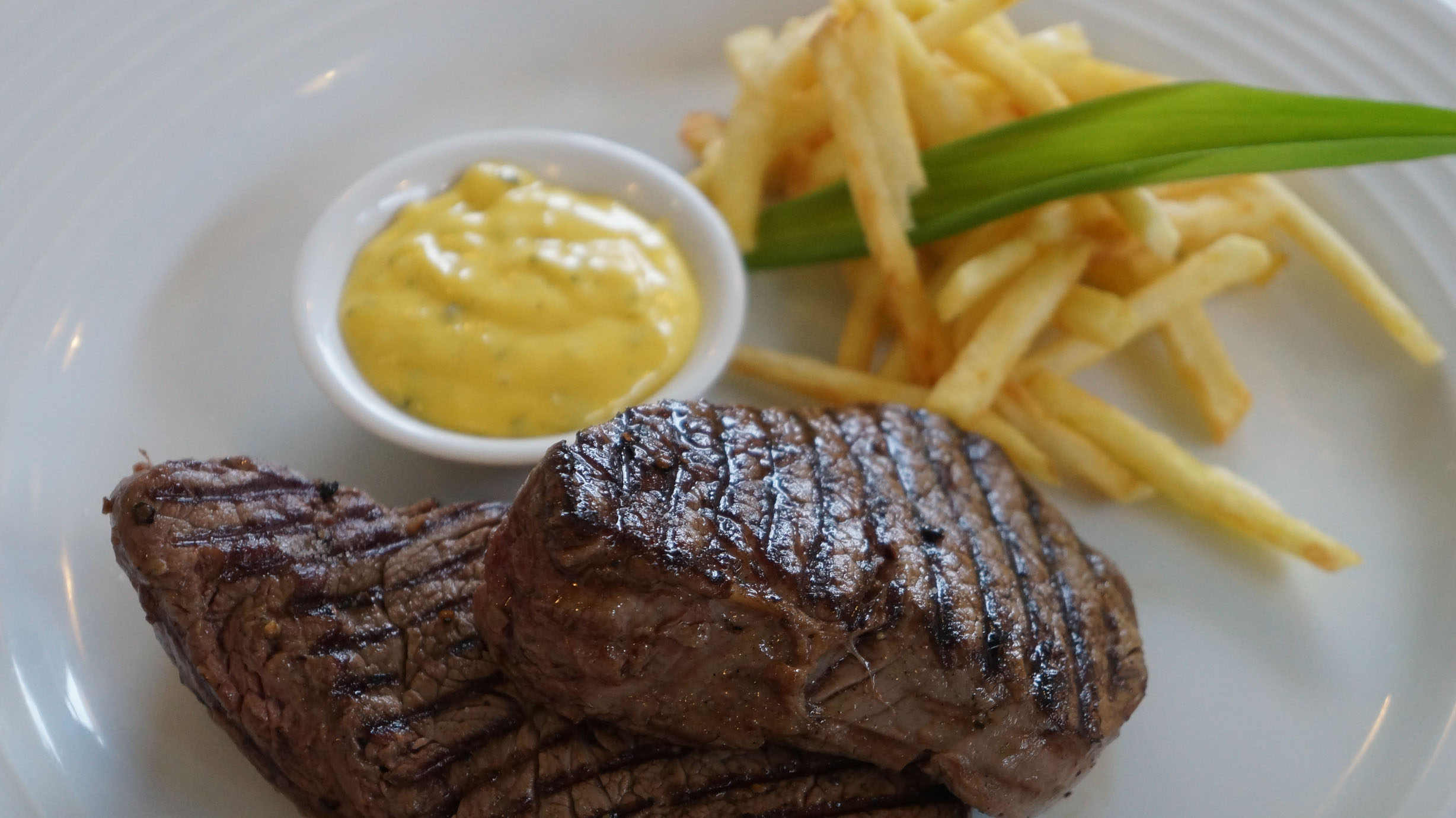 Steak, Chips & Bernaise Sauce