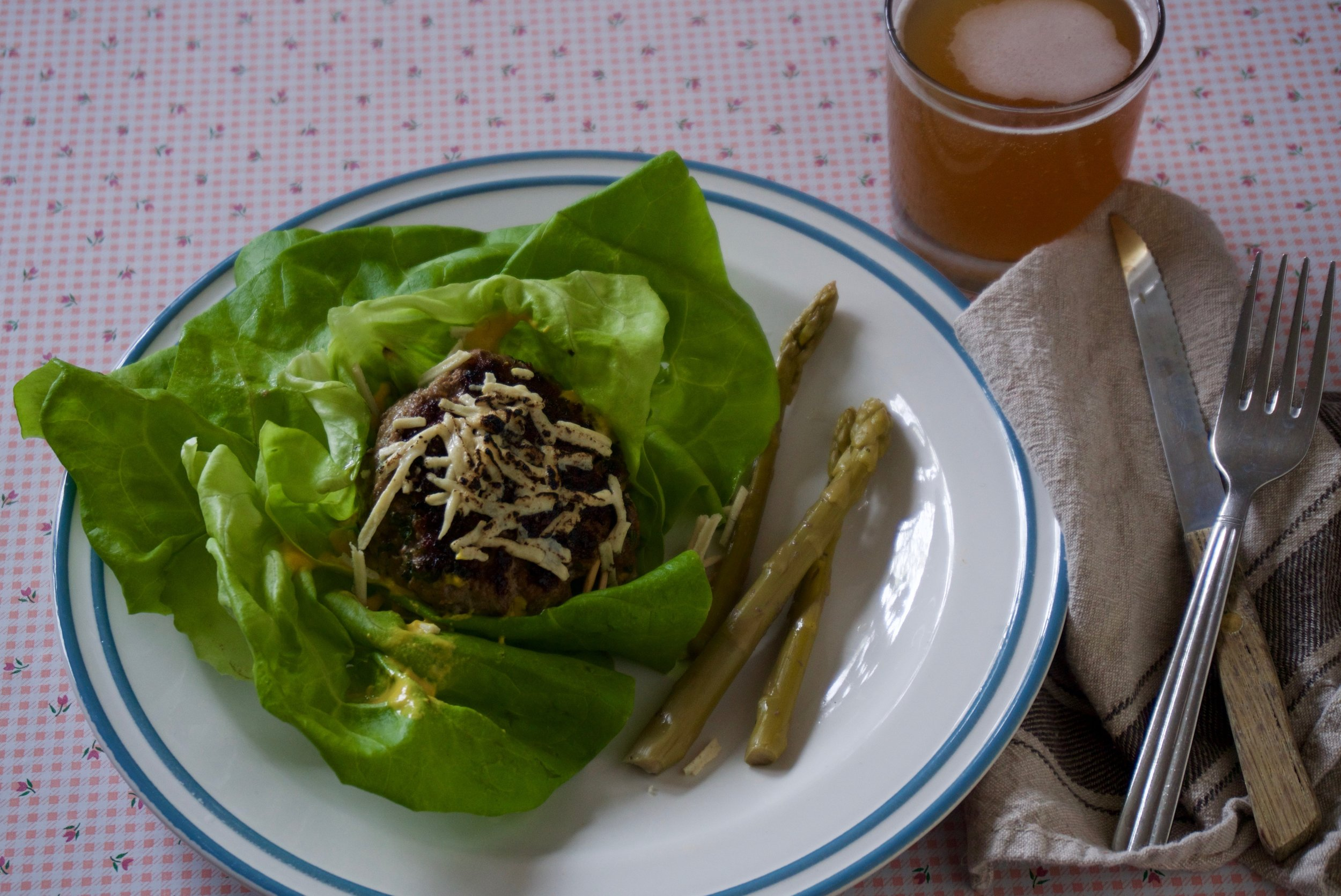 Sometimes I Boston bib lettuce wrap, but that's just too easy..