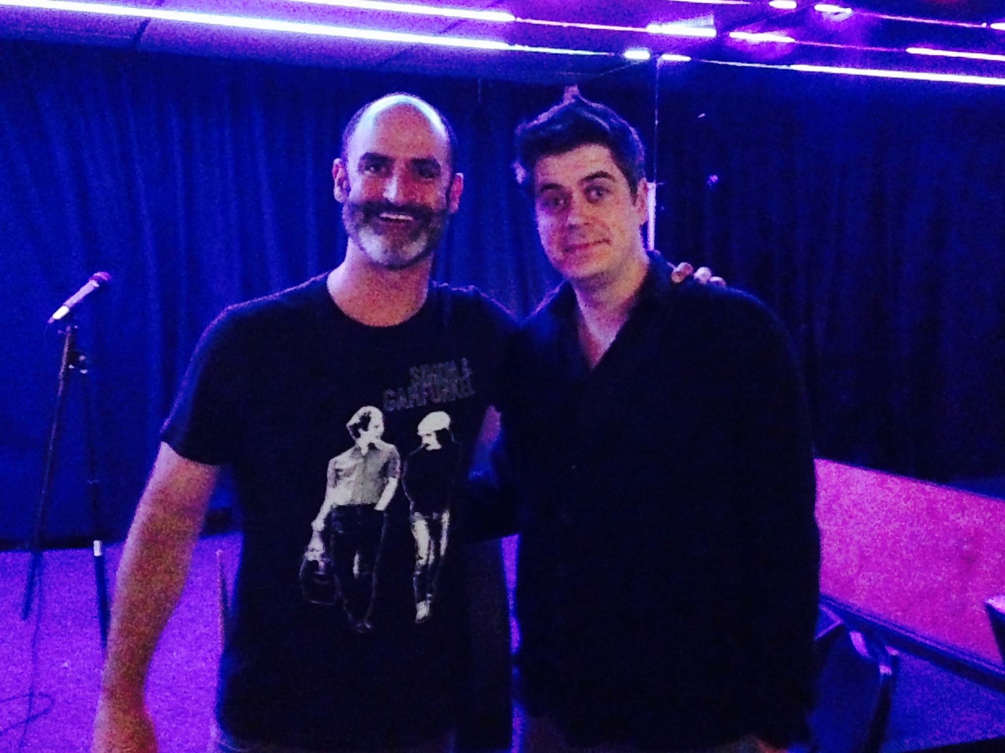With Brody Stevens at the Hong Kong Inn