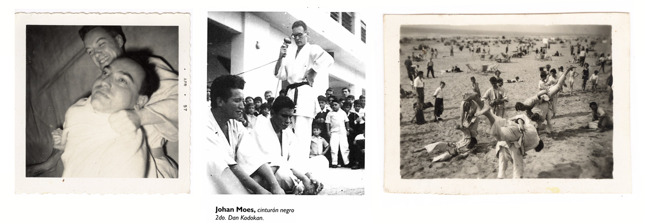 Johan attended one of the first judo schools in Holland. When he arrived in Latin America, in Ecuador, it stroked him how popular the sport was there.