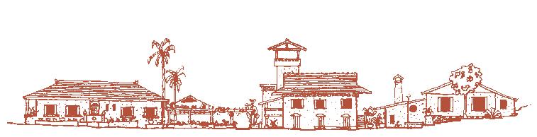 A vista do Tibá desenhada por Johan.