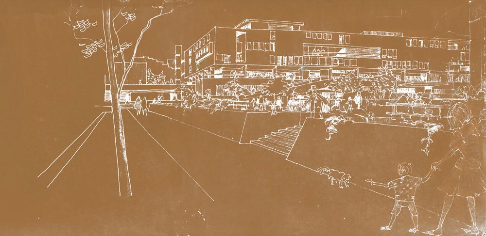 Johan projetou vários hospitais em escritórios renomados em San Francisco, na Califórnia (por exemplo, Rex Allen ou A.D.Little), bem como o plano diretor da Universidade das Américas no México.   Johan creó varios hospitales en varias oficinas de arquitectura de San Francisco y California (por ejemplo, Rex Allen o A.D. Little), y también el plano director de la Universidad de las Américas en México.