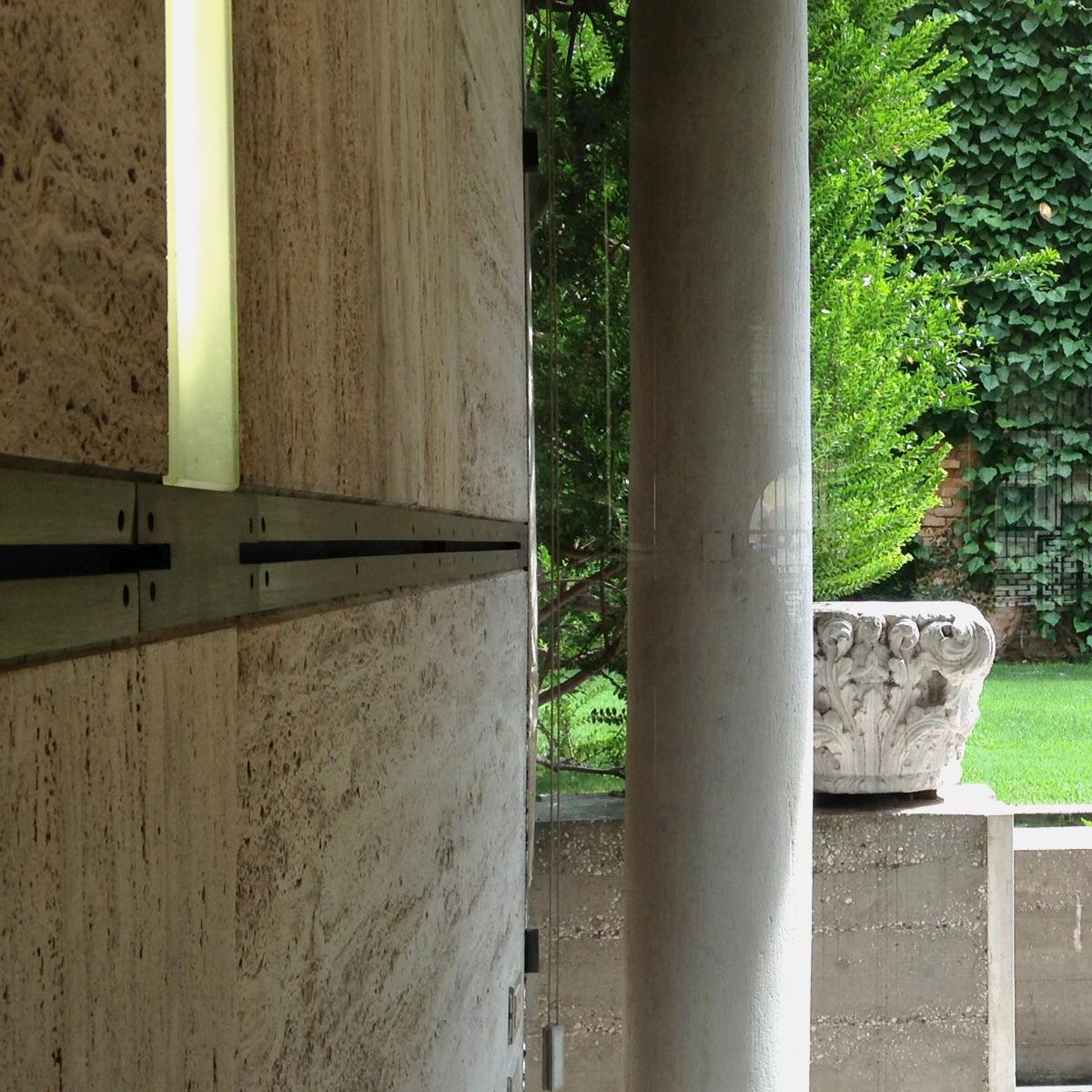 Detail. The Fondazione Querini Stampalia, Venezia ( Scarpa 1969)