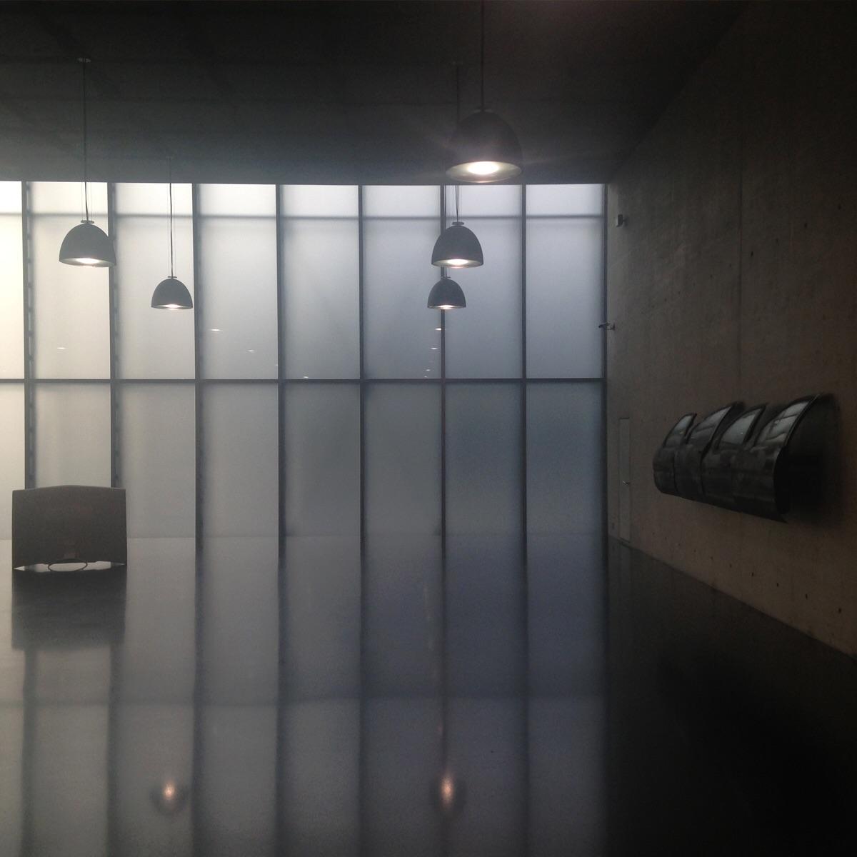 Lobby. Kunsthaus Bregenz. Austria. (Zumthor 1997)