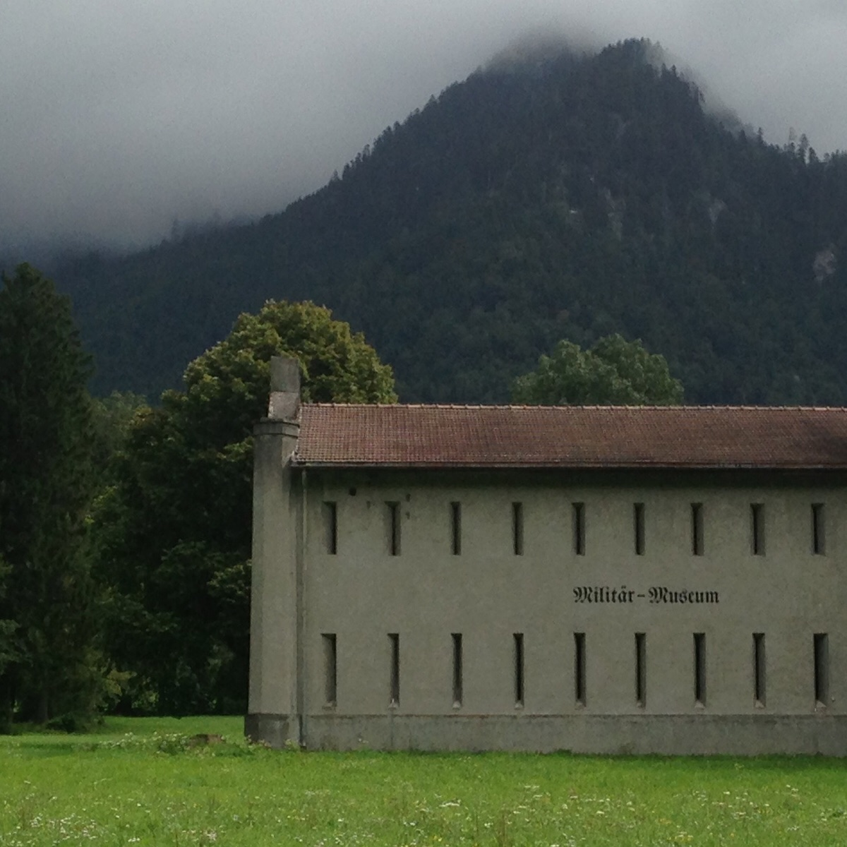 An old military building. Switzerland.
