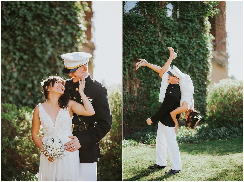 Wedding Inspiration at this Backyard Albuquerque Elopement   Downtown Contemporary Art Studio   Albuquerque, New Mexico   Jasper K Photography