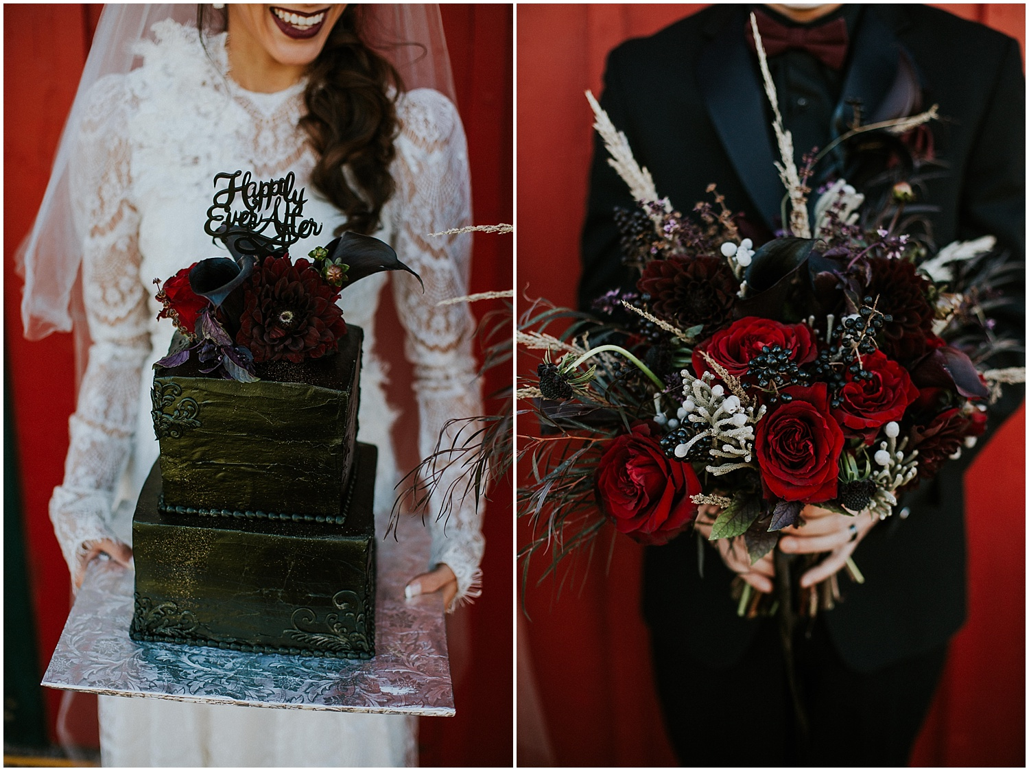 Danessa from Black Bow Events, LLC ran with the idea and got so many kick ass vendors to collaborate on this amazing set. From the taco truck to the florals to the beautiful stationary, this stylized inspiration will make your little black hearts oh so happy.