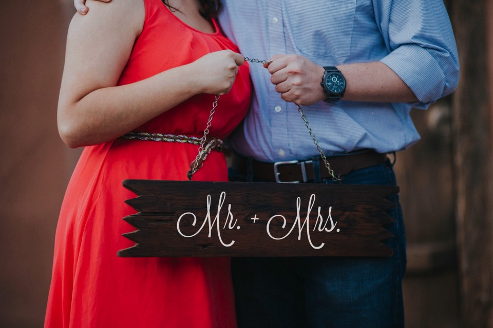 We kicked off their beautiful engagement session at the pecan orchards in Las Cruces, New Mexico. I loved Kristina's beautiful pink dress and Mitch's rustic yet classy outfit. Talk about engagement photo inspiration!