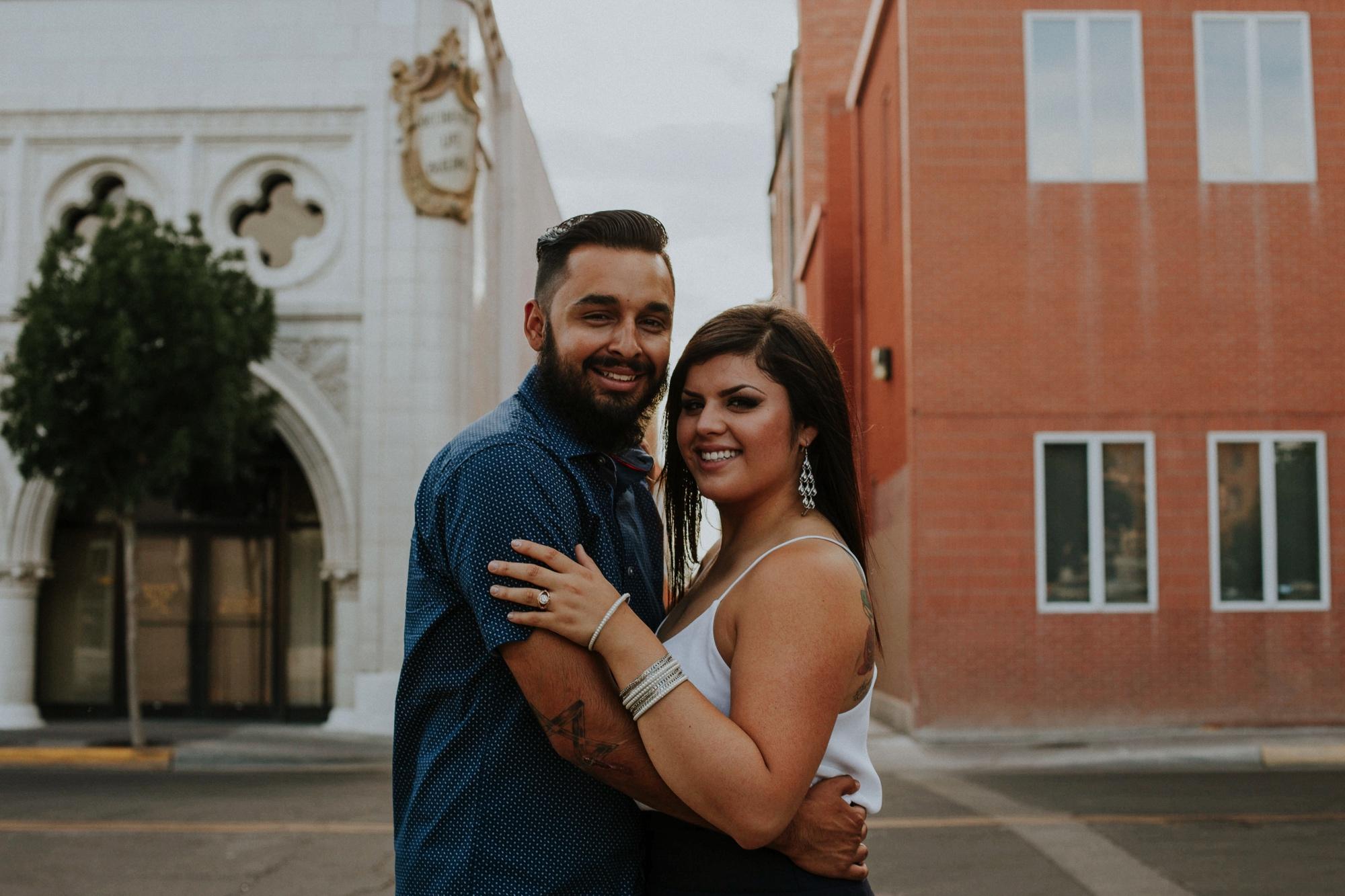Alicia + Joshua   Jasper K Photography   Downtown Albuquerque Engagement   Albuquerque, New Mexico Engagement Photographer