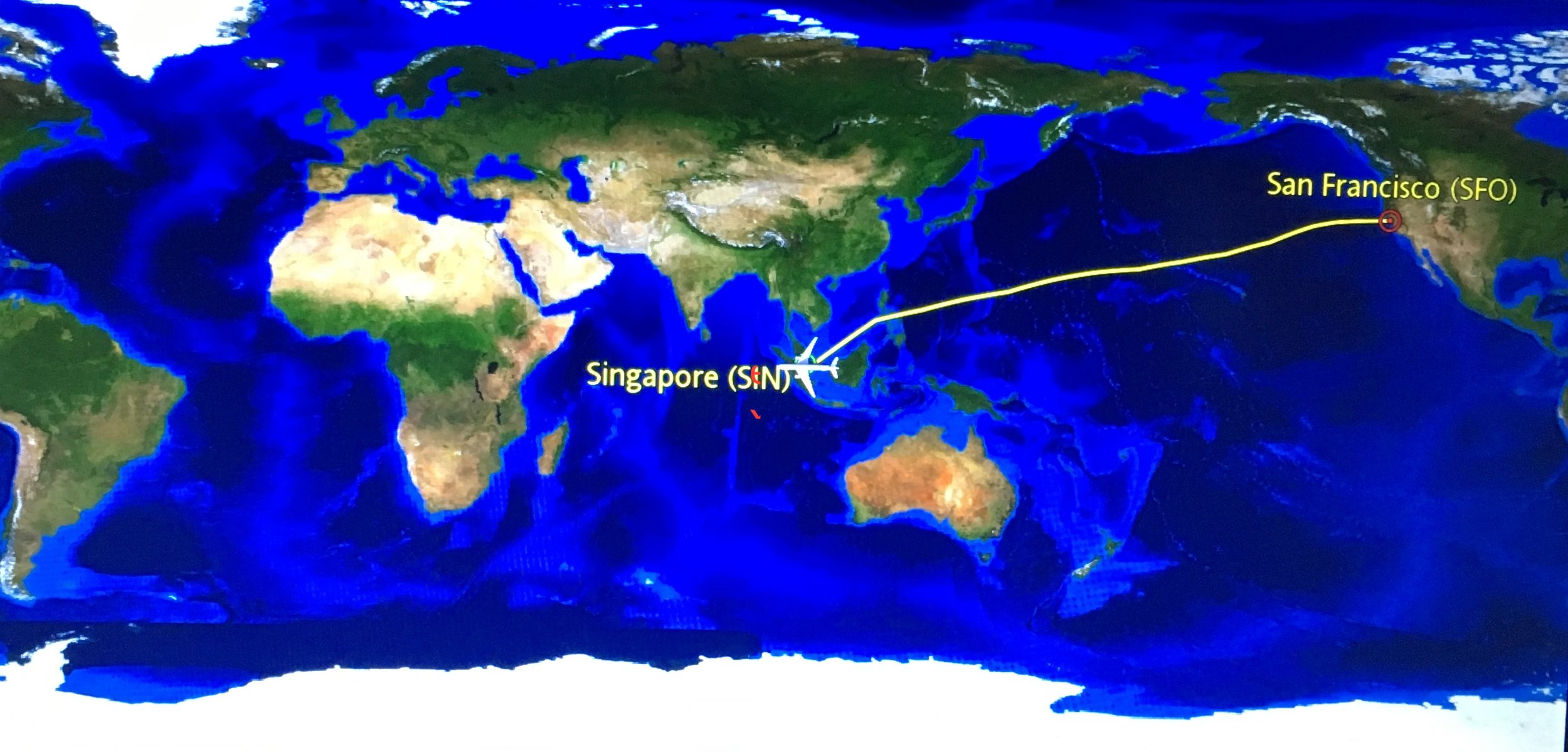 San Francisco to Singapore