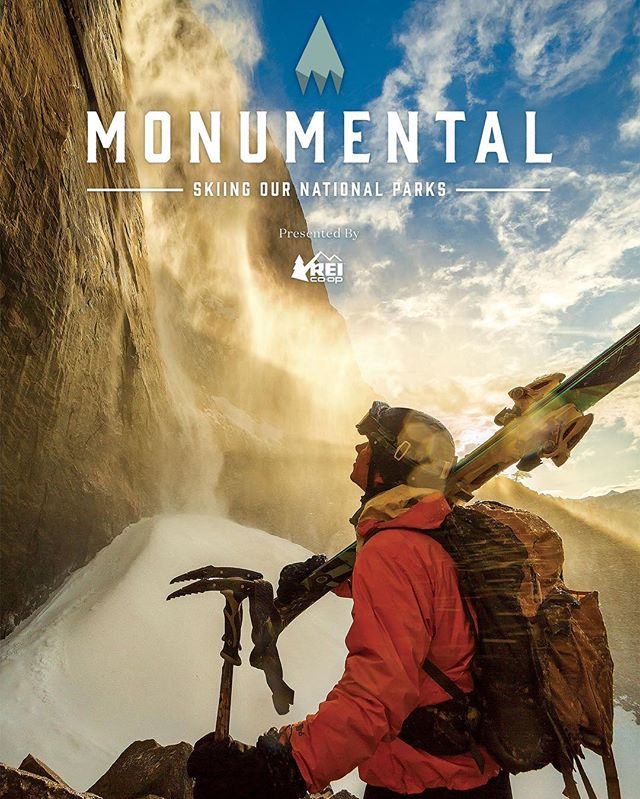 People often ask how we made a living while criss-crossing the country in a van for a year. One half of vanventures, @johnnystifter, spent much of the year working with @powdermagazine, @kgb_productions, and @rei as executive producer for Monumental, a film about skiing the national parks. It's now out available on iTunes! Download today: Powder.com/monumental