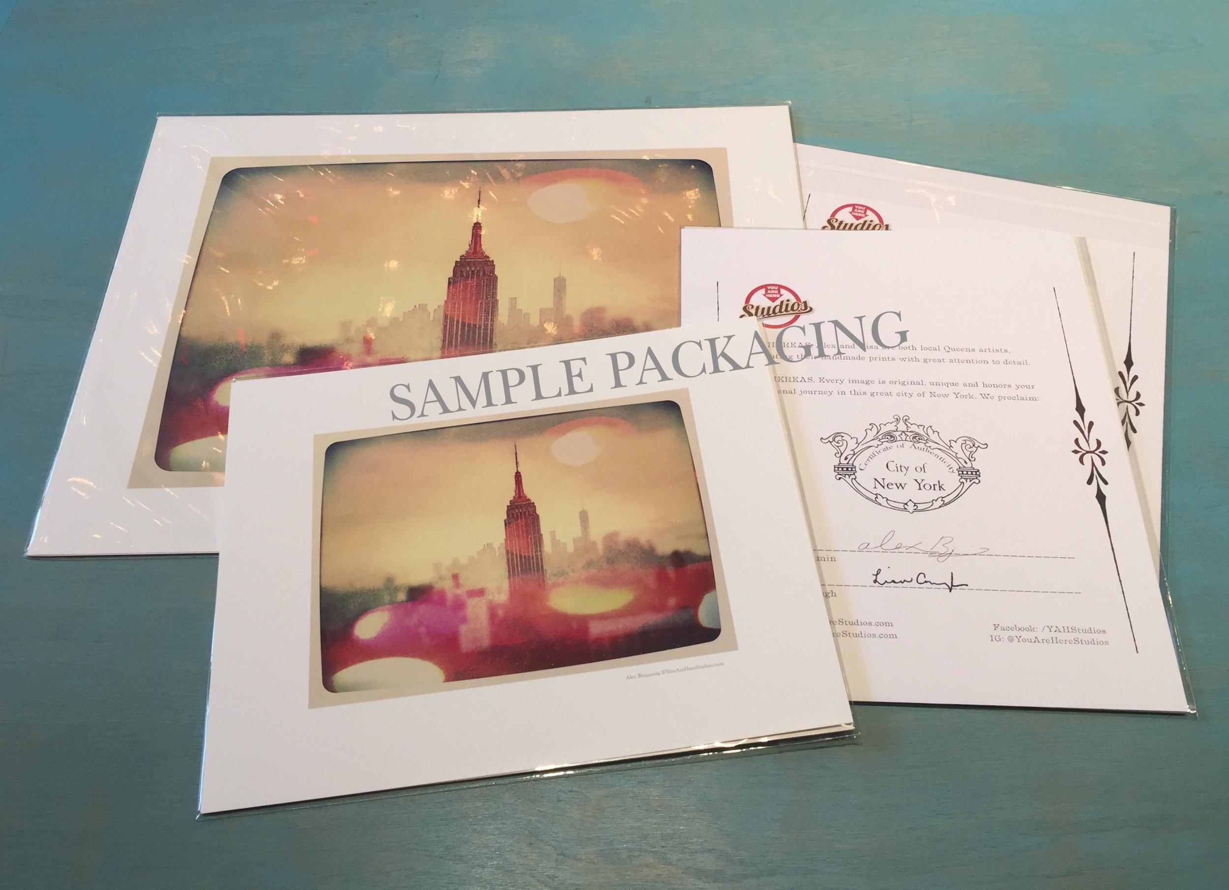 Sample Packaging - (2 Sizes)