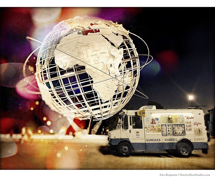 Unisphere & Ice Cream Truck