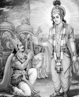 krishna and arjuna-