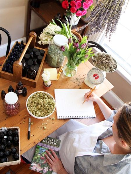 Entrepreneur Herbalist Package - This is an ambitious path designed for those who want to venture into product development and launching a business.