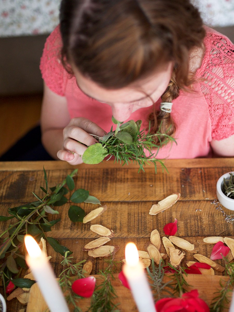 """Herbal Self-Care for Stress Management Course - Empower yourself in your stress management quest with the herbal self-care approach! Discover what """"herbal"""" self-care really means."""