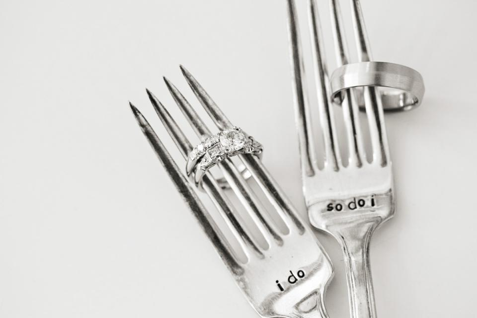If you invite an ex to your wedding, maybe give them a spork.