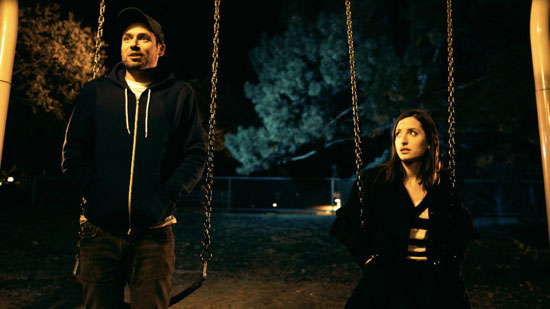 Because this near-romantic, adults-on-a-swing-set scene has happened at least once in everyone's life.