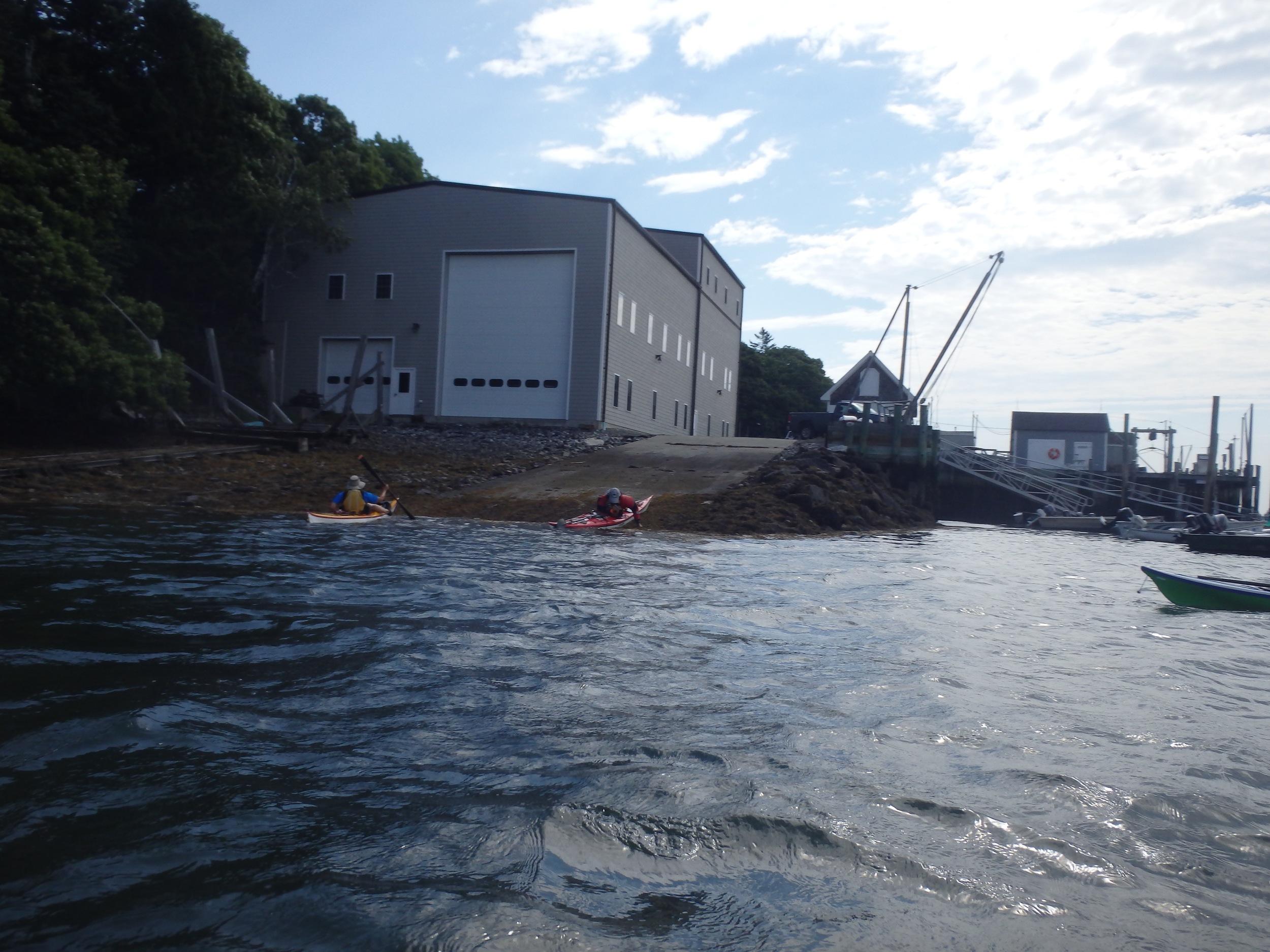 Tenants Harbor Boatyard