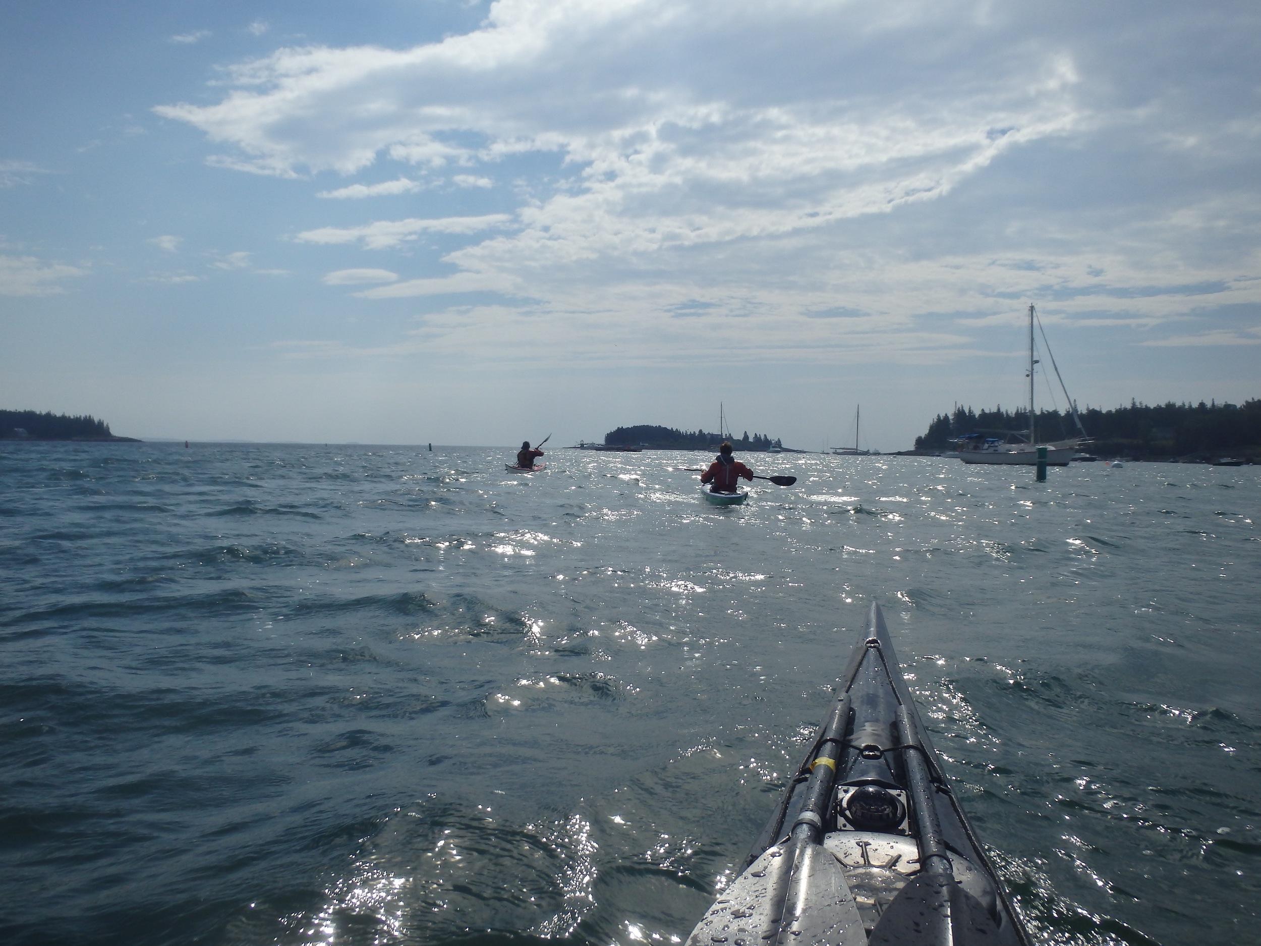 Leaving Tenants Harbor
