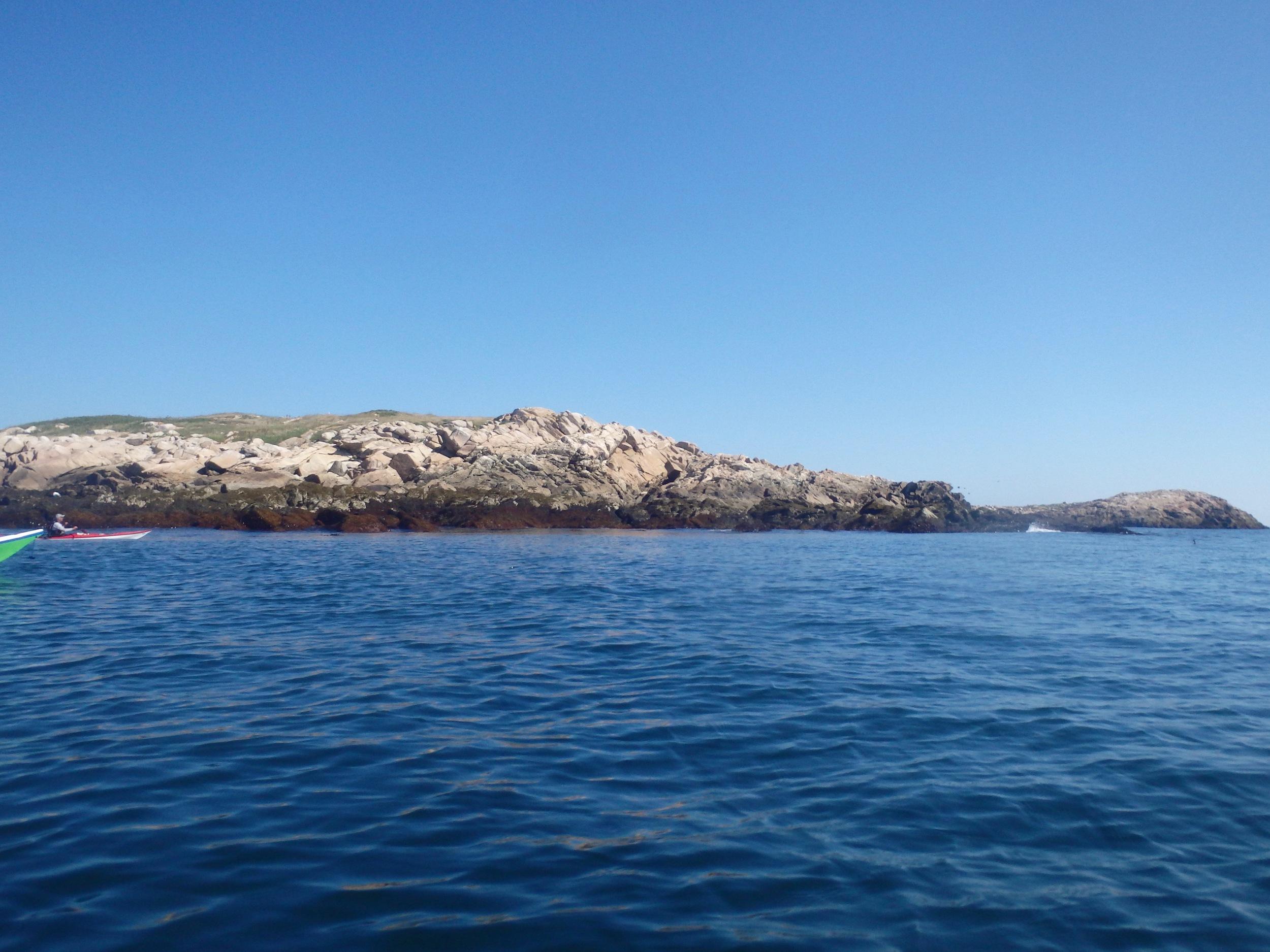 Passing Two Bush Island