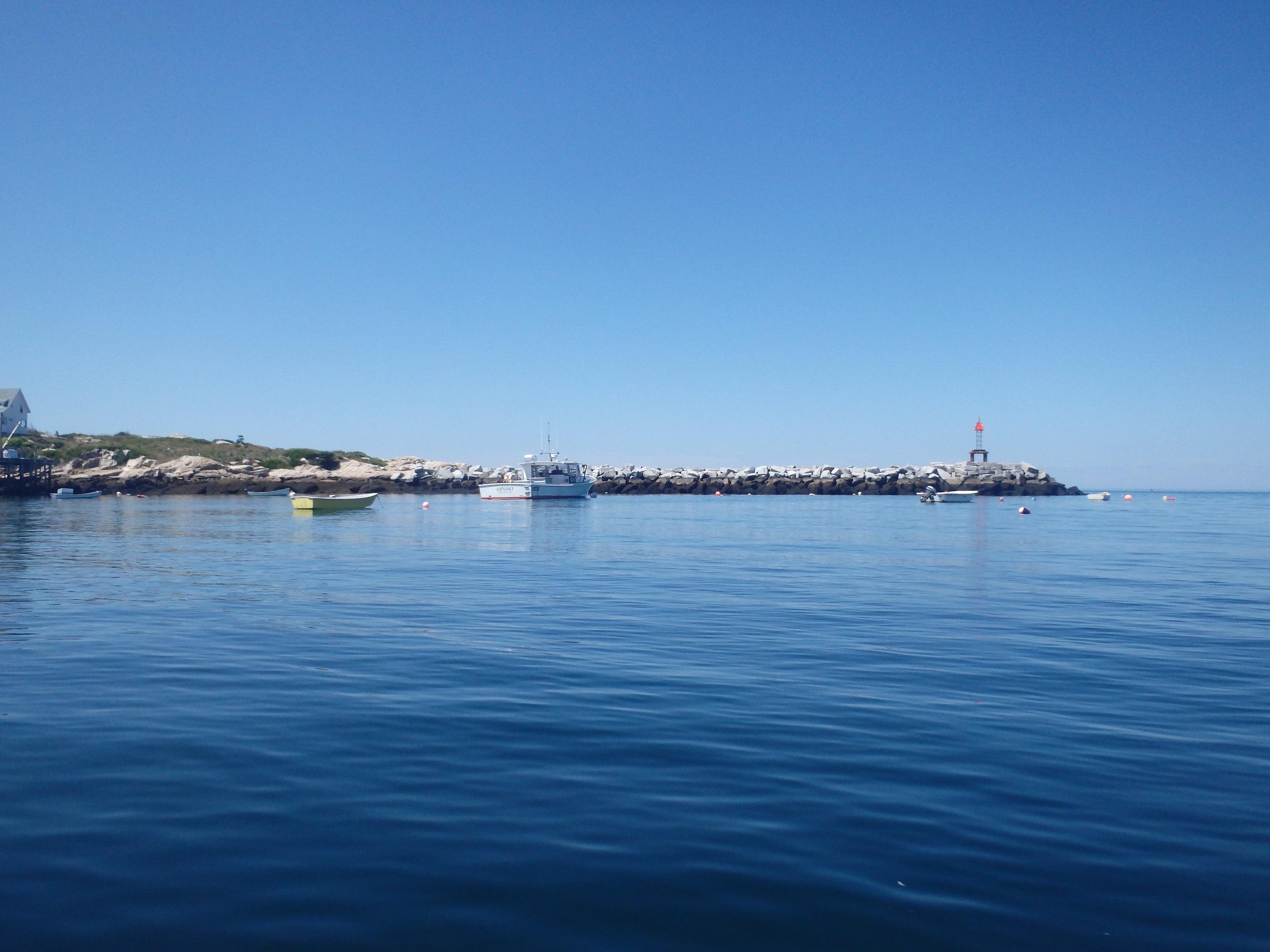Criehaven jetty