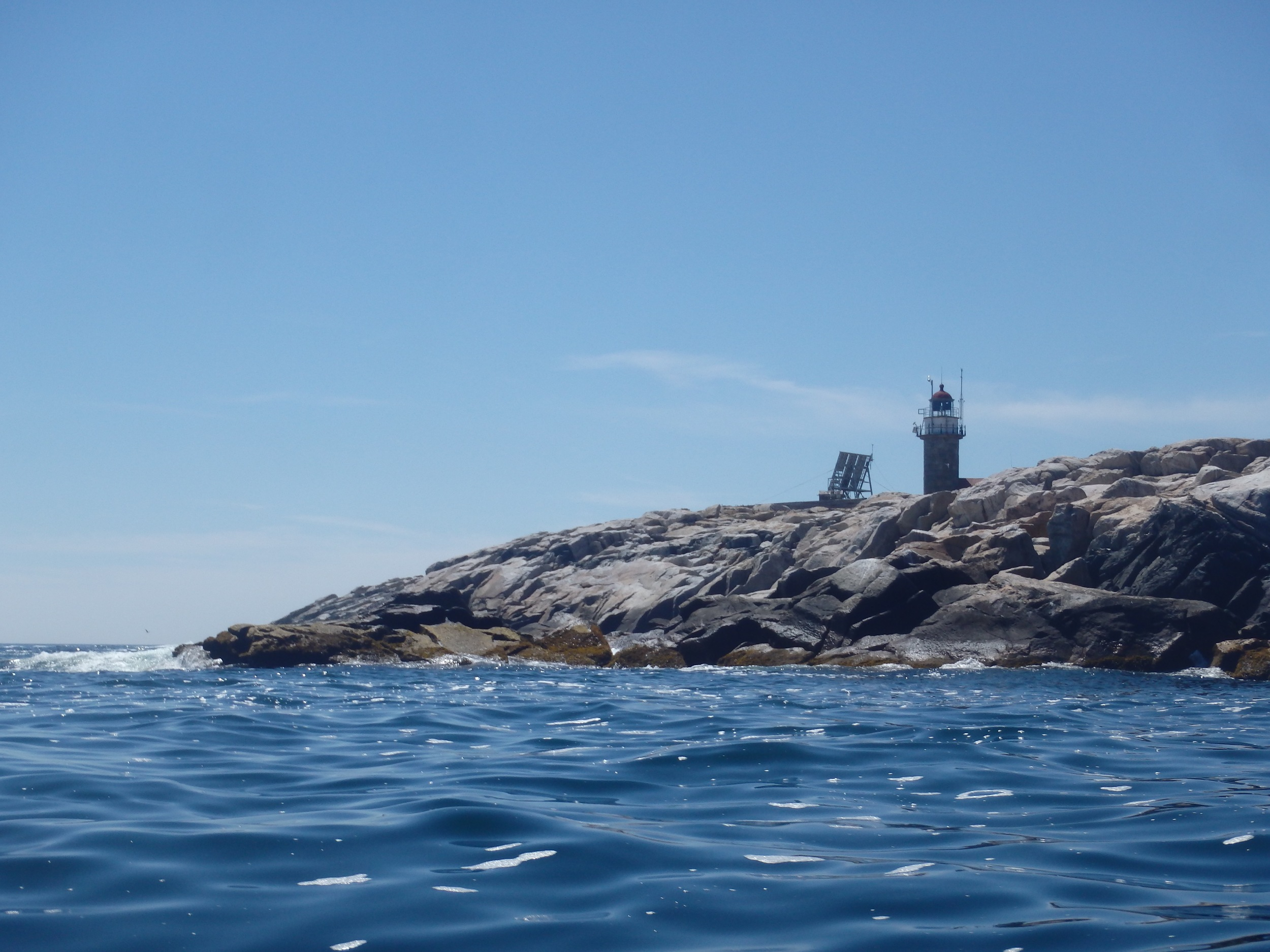 Approaching the southern tip